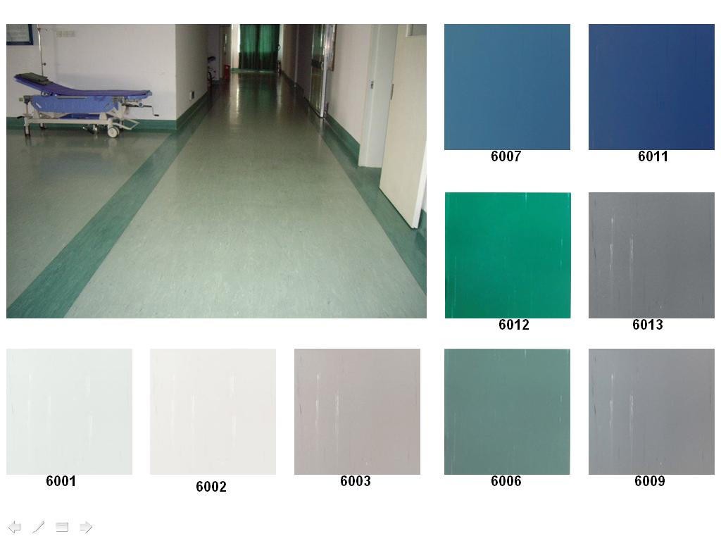 Vinyl homogeneous pvc cenatra trading for Flooring products
