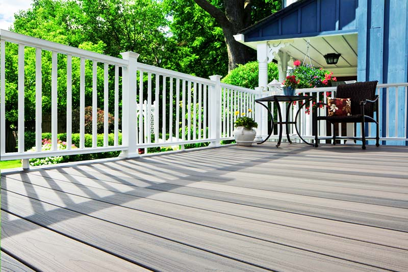 Wpc decking cenatra trading for Sustainable decking
